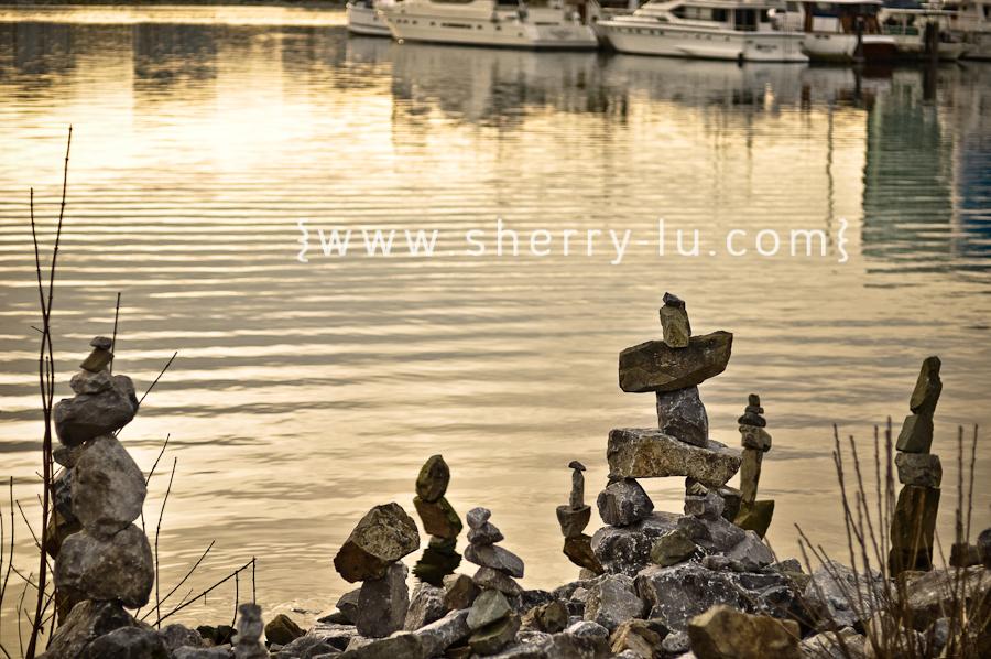 false creek rock statues
