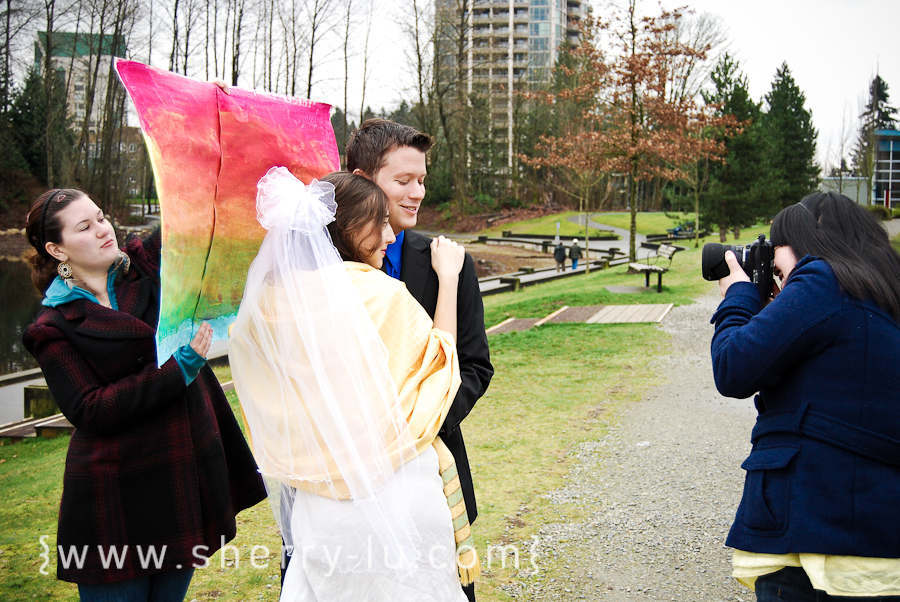 behind the scenes, vancouver wedding photographer, vancouver engagement photographer