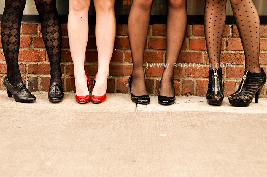 vancouver fashion photographer, shoe shot, red pumps