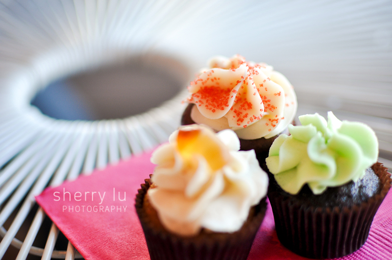 cupcakes in Victoria, travel photo in Victoria, British Columbia